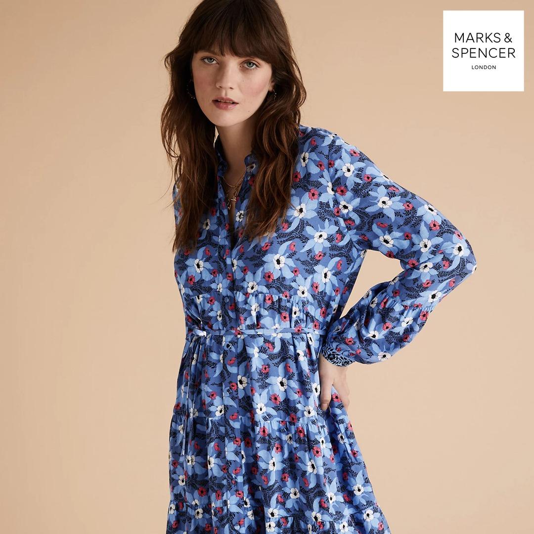 Підготуйте свій гардероб до найспекотнішого сезону із літньою колекцією одягу від Marks & Spencer! - kiev.karavan.com.ua